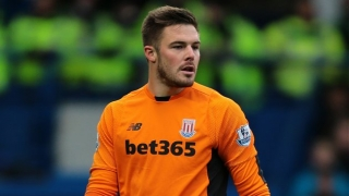 Stoke goalkeeper Butland admits ankle woes had him in tears