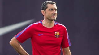 Barcelona striker Paco Alcacer: Valverde very sincere