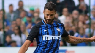 Inter Milan goalscorer Antonio Candreva delighted with Bologna goal