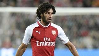 Arsenal crock Mohamed Elneny receives injury boost