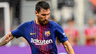 IT'S DONE: Lionel Messi signs new Barcelona contract