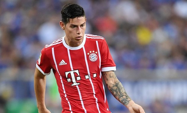 Arsenal in contact with Real Madrid over instant James loan