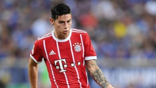 Bayern Munich midfielder James upbeat over knee injury recovery