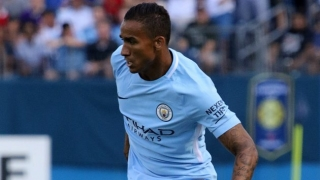 Man City fullback Danilo calm over bench role