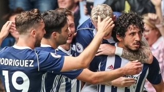 West Brom midfielder Nacer Chadli happy to be back - and scoring