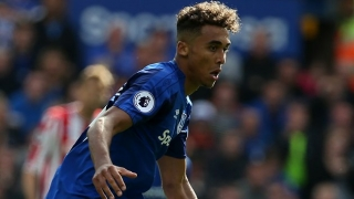 Everton striker Calvert-Lewin tribute to Unsworth after U23 title double