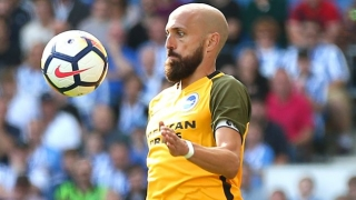 ​Brighton captain Bruno laments 'soft' Everton penalty