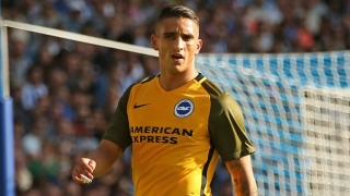 Brighton attacker Knockaert: Now for Liverpool!