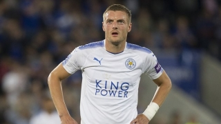 ​Leicester striker Vardy could be back to face Chelsea