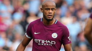 Kompany misses Man City training