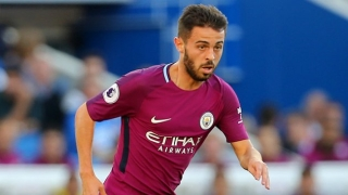 Man City midfielder Bernardo Silva: I'm happy here