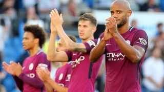 Man City fight off late Bristol City scare to book Carabao Cup final spot