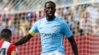 Toure urges unbeaten Man City not to get carried away: Learn from Barcelona