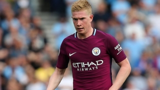 WATCH: Fuming De Bruyne blocked by Man City players confronting match official