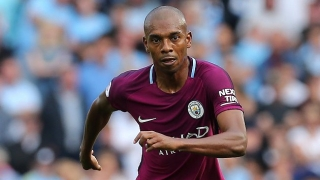 Man City boss Guardiola reveals Fernandinho contract plans