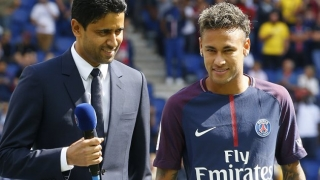 SNAPPED! PSG fans unveil Neymar banner to counter jeers