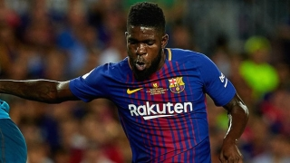 Man City will challenge Man Utd for Barcelona defender Samuel Umtiti
