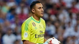 Liverpool consider turning to cut-price Real Madrid keeper Keylor Navas