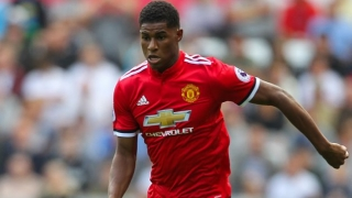 ​Rashford brace helps Man Utd cruise to victory over Burton