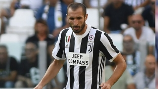 Juventus captain Chiellini accepts role of a centre-half changing
