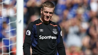Everton goalkeeper Jordan Pickford interesting Bayern Munich