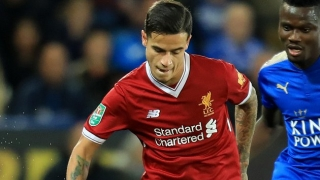 PSG chiefs now stepping back from Jan plans for Liverpool ace Coutinho