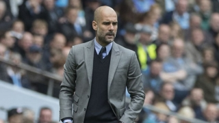 Guardiola delighted that Man City defeated an impressive Napoli