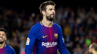 Barcelona defender Pique confronted ref after Lenglet dismissal