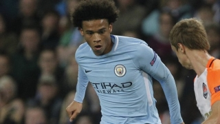 Leroy Sane happy to score in winning Man City return