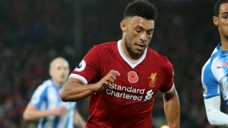 SNAPPED: Alex Oxlade-Chamberlain joins open Liverpool training