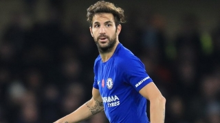 Chelsea star Fabregas insists no problems pushing aside Barcelona history