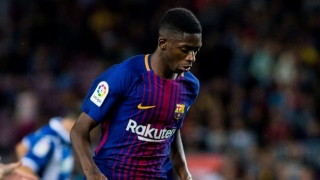 Arsenal boss Wenger eyeing off Barcelona attacker Dembele