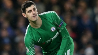 PSG sudden new favourites for Chelsea keeper Thibaut Courtois