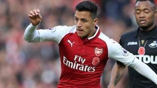 Alexis jumps into fans' social media battle over Arsenal to Man Utd defection