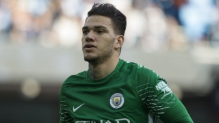 Ederson preaches 'careful' Man City approach against Basel