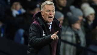 West Ham boss Moyes watches 3 targets during weekend scouting trips