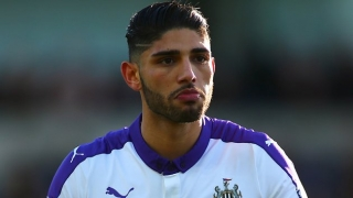Newcastle boss Benitez names Lazaar in his Premier League squad