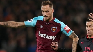Marko Arnautovic scores twice as West Ham draw with Preston