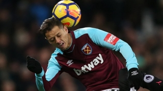 West Ham striker Hernandez out for Shrewsbury replay