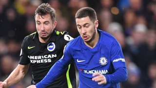 Chelsea ace Hazard warns Conte: I'm not crazy about false 9 role