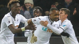 ​DONE DEAL: Striker Baston leaves Swansea for Alaves loan