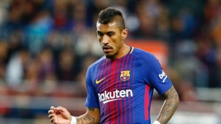 Barcelona striker Alcacer defends nicking goal ahead of Paulinho