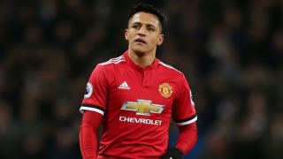 Man Utd striker Alexis Sanchez enjoys full 90 for Chile