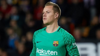 Barcelona goalkeeper Ter Stegen disappointed with Germany back-up role