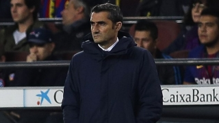 Barcelona coach Valverde sets his players new target