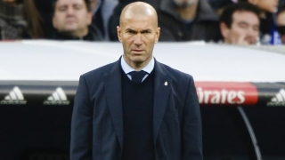 Real Madrid coach Zidane understands stay-away fans