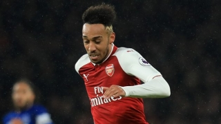 Arsenal ace Aubameyang enjoys winding up Liverpool fans and Alisson...
