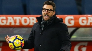 Roma coach Di Francesco excited to play at Anfield