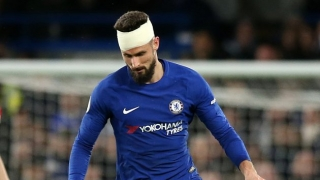 Chelsea striker Giroud happy to score in France defeat