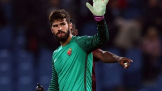 Roma goalkeeper Alisson flattered by Real Madrid interest